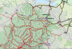 Turista Térkép